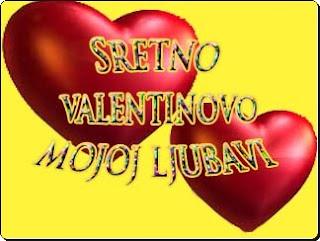 sretno Valentinovo mojoj ljubavi