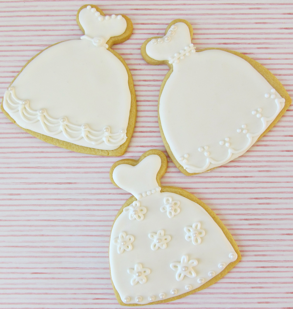 How sweet it is for Wedding dress cookie cutters