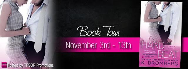 Book Tour: Hard Beat by K. Bromberg