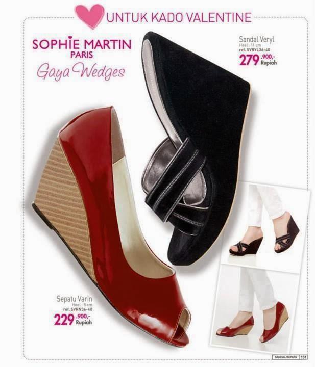 Katalog Sepatu sophie 2014