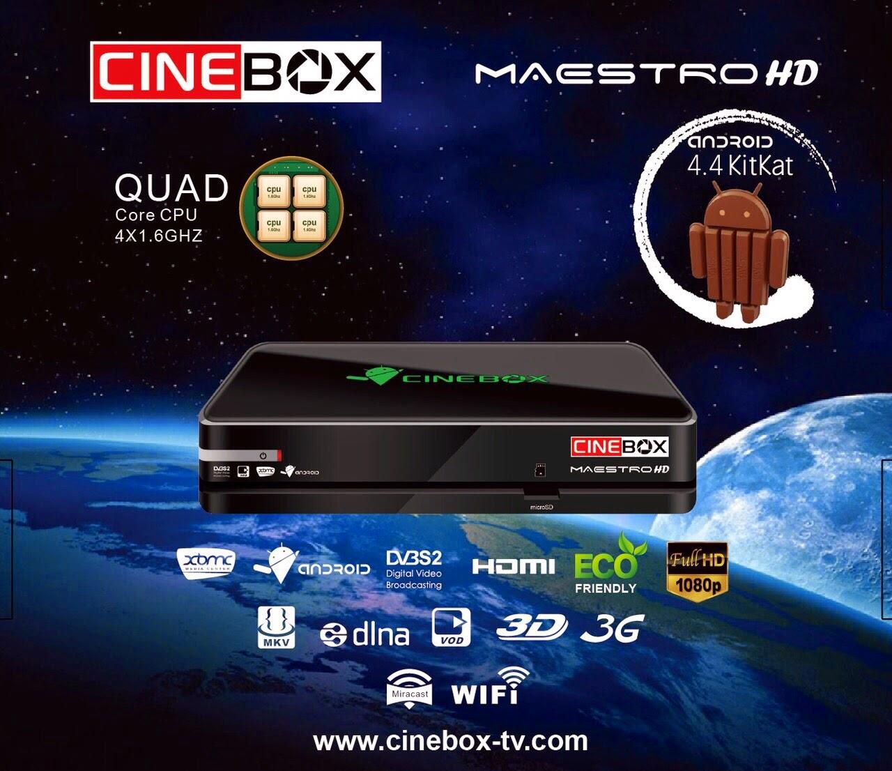 Colocar CS CINEBOX%2BMAESTRO%2BHD Atualização CINEBOX MAESTRO HD 2015 comprar cs