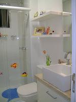 Banheiro das crianças ou é a prainha deles?