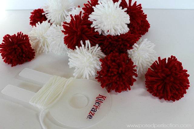 How to Make a Pom-Pom Heart Wreath