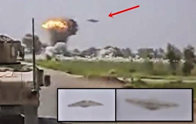 OVNI DESTRUYE CAMPAMENTO TALIBAN, (VIDEO)