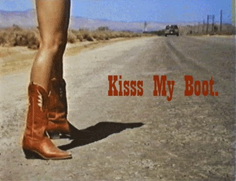Kisss My Boot.