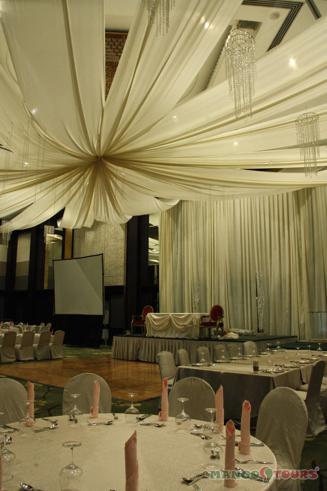 Mango Tours Diamond Hotel Philippines Ballroom