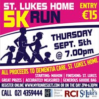 Flat fast 5k in Cork City - Thurs 5th Sept 2019