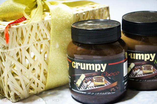 Crumpy Choco and Crumpy Nut Belgian Spread