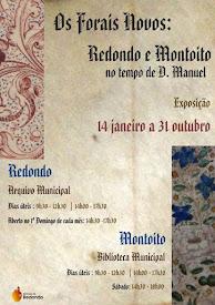 OS FORAIS NOVOS: REDONDO E MONTOITO NO TEMPO DE D. MANUEL