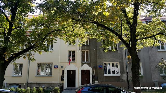 Warszawa Warsaw Żoliborz Oficerski Kolonia Oficerska ulica