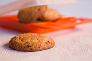 Cookies de almendra y chocolate