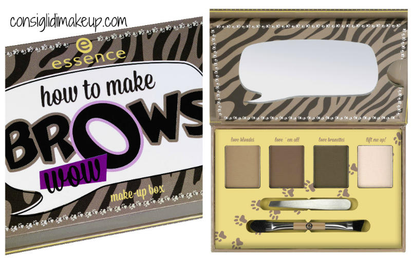 kit sopracciglia how to make brows essence