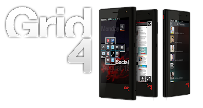 new Fusion Garage Grid4 Smartphone