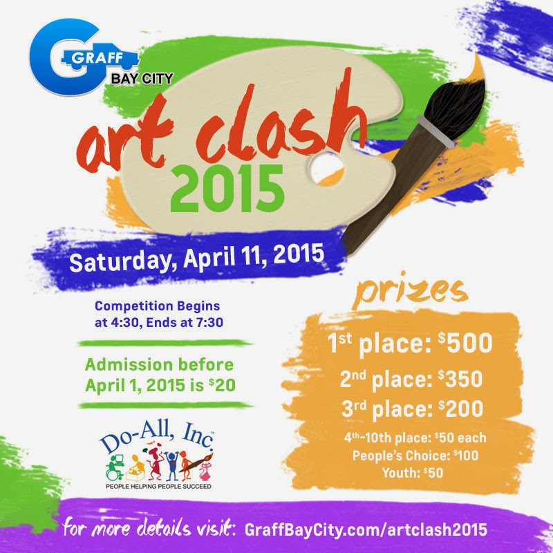 ArtClash 2015 Will Be Hosted At Graff Bay City!