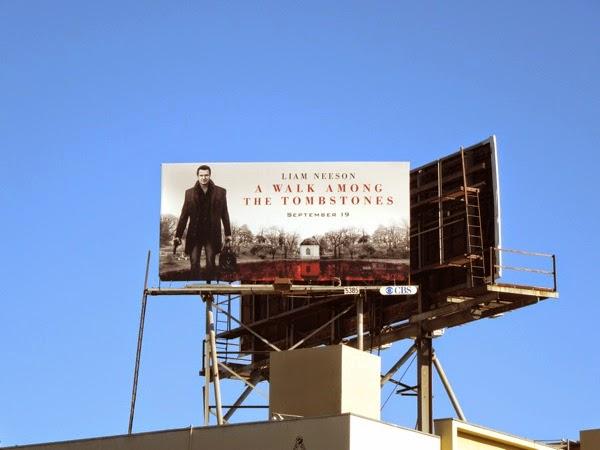 A Walk Among the Tombstones billboard