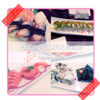 Monthly Features: AYCE (Feb/Mar)