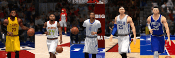 NBA 2k14 Roster update - February 21, 2017 - Updated Jerseys - HoopsVilla