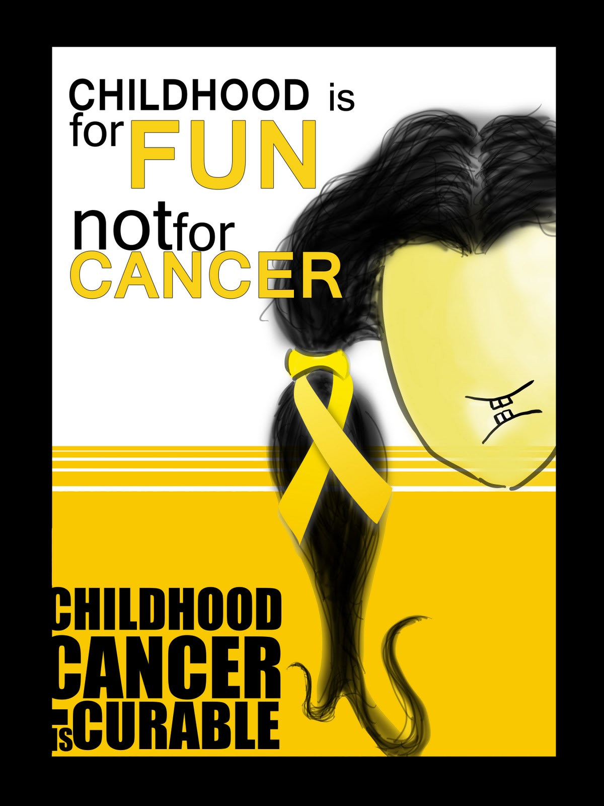Children Cancer Poster