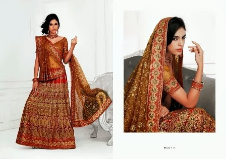 Latest-Bridal-A-Line-Lehenga-Choli