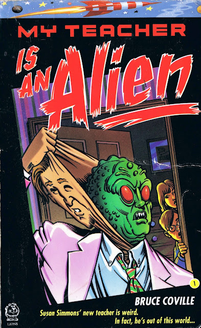 my teacher is an alien The paperback of the my teacher is an alien 3-books-in-1: my teacher is an alien my teacher fried my brains my teacher glows in the dark by bruce.