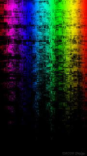 fond ecran nokia 360x640 fondu couleurs