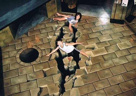 Karya Senirupa Trick Art