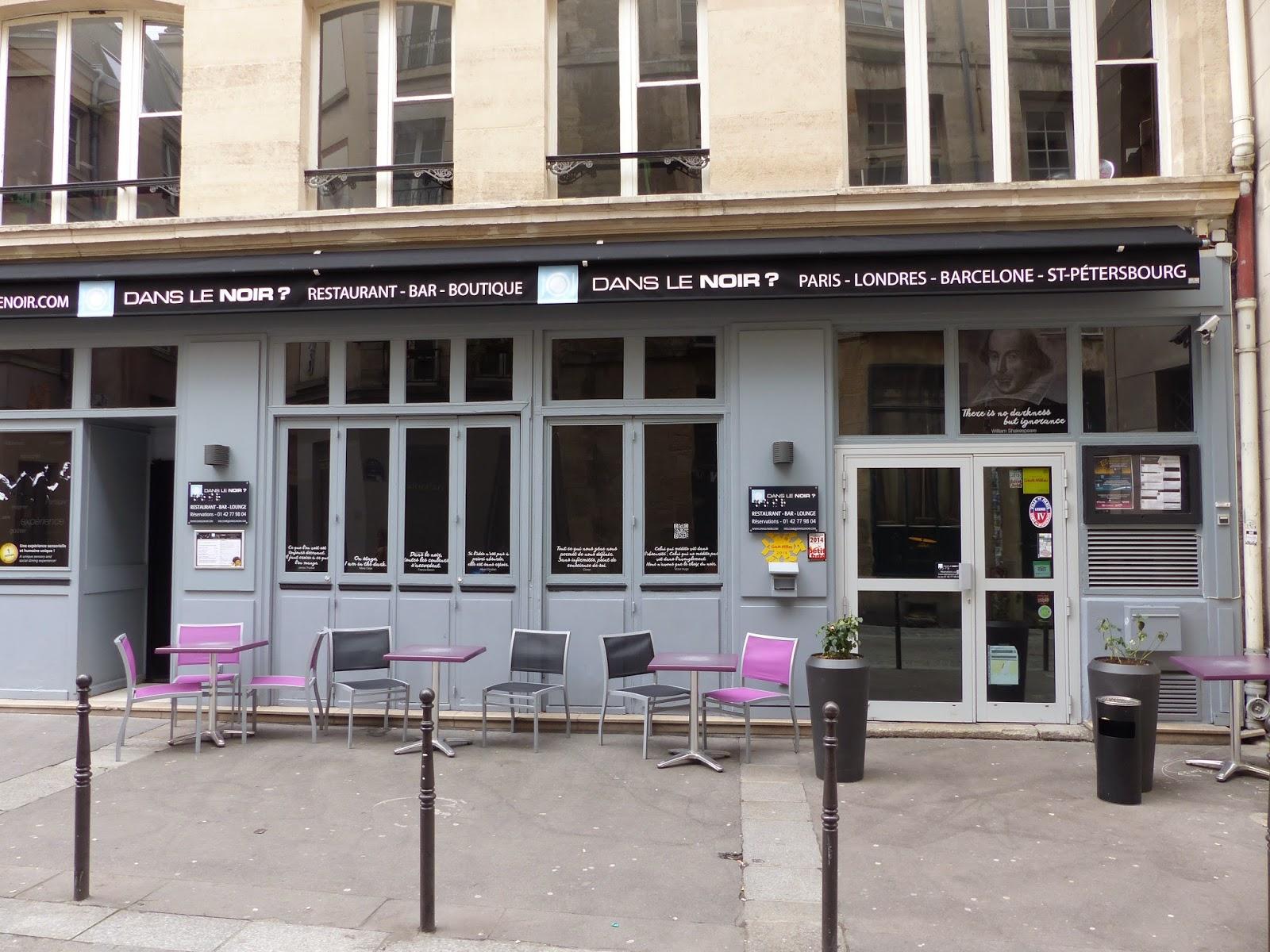 dans le noir Paris