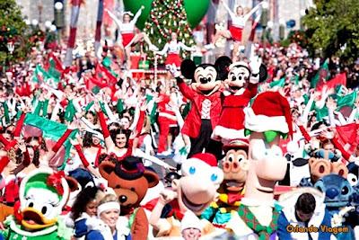 Fotos e imagens do Natal na Disney
