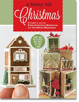 True2scale dollhouse miniatures printables tutorials for Free house magazines