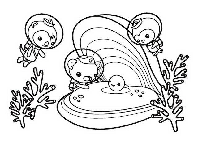Dibujos y Plantillas para imprimir: Octonautas