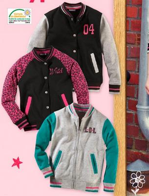 chaquetas estilo college niñas vuelta al cole Lidl