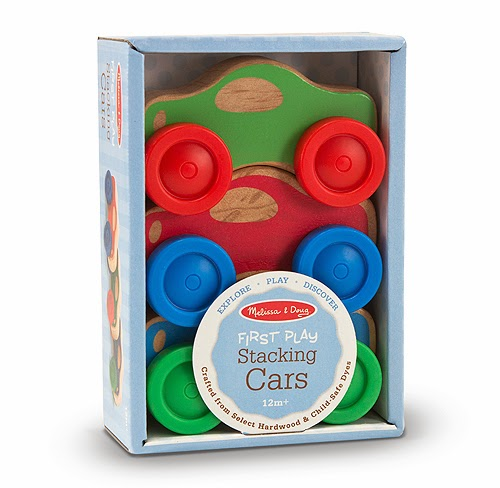 Wooden Toy Cars for Babies and Toddlers