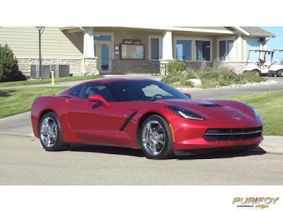 2014 Corvette Stingray 3LT at Purifoy Chevrolet