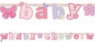 Carter's Baby Girl Letter Banner