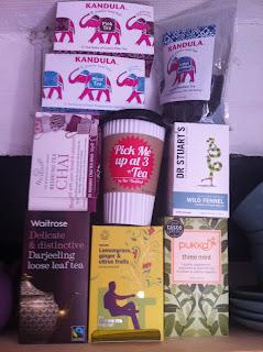 Lazy Giraffe Blog Tea Kandula Dr. Stuart's Chai Rooibos