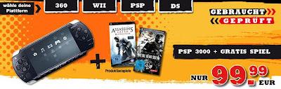 Gamestop-Aktion: Gebrauchte, geprüfte Konsolen inklusive Gratis-Spiel zu sehr guten Preisen