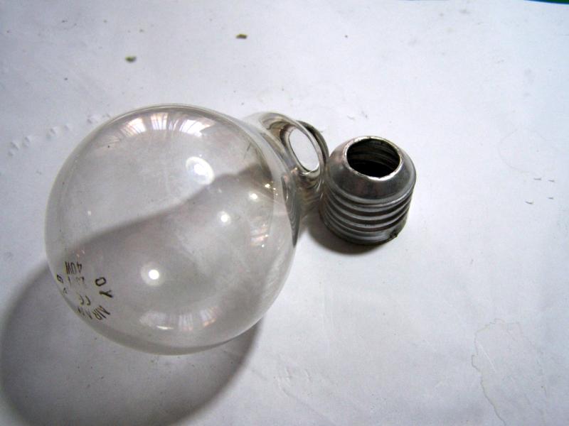 Mytech: riciclo creativo lampadine