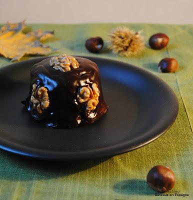 recette gateau au chocolat aux marrons
