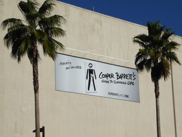 Cooper Barrett's Guide to Surviving Life billboard