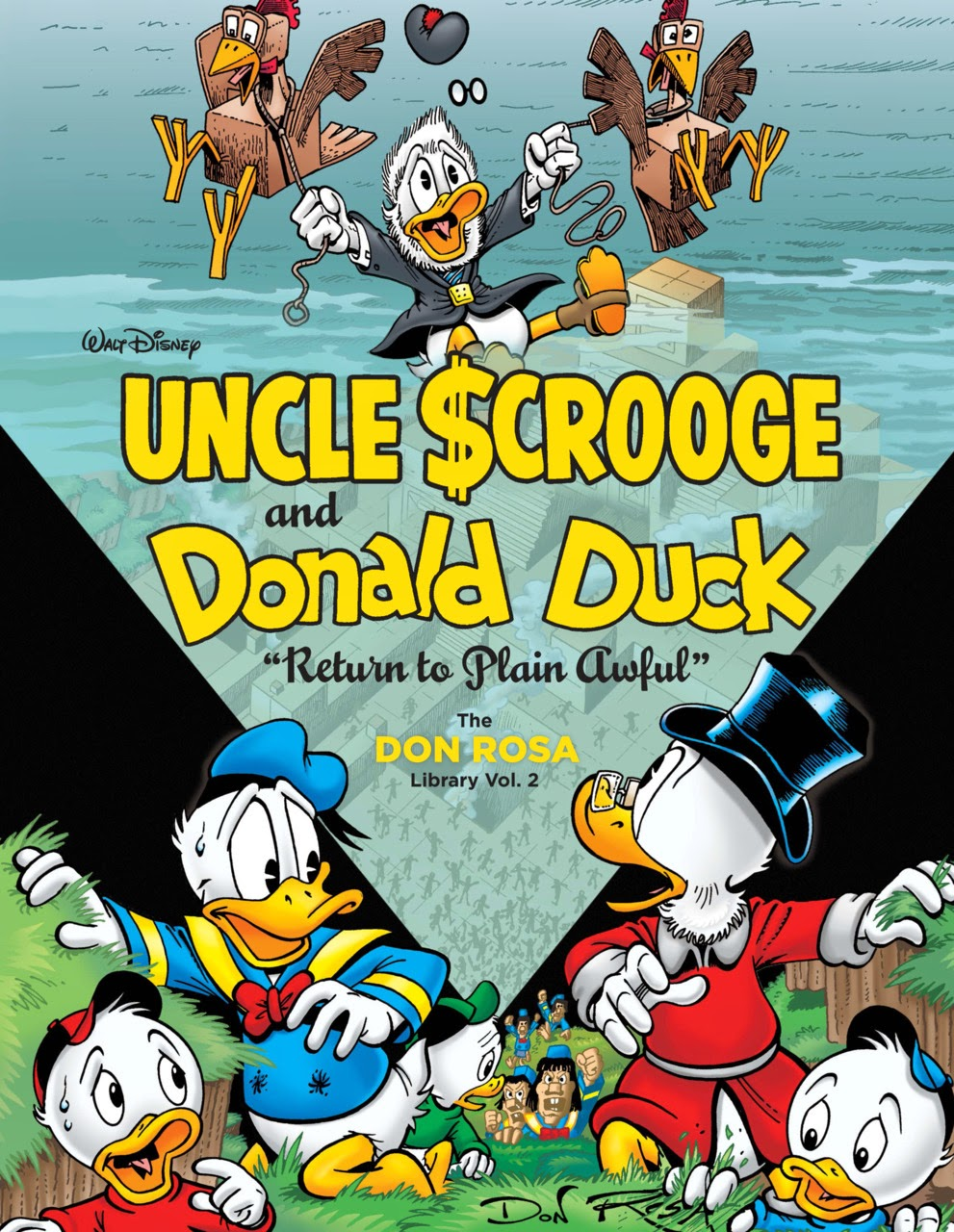 Review Uncle Scrooge And Donald Duck Return To Plain Awful