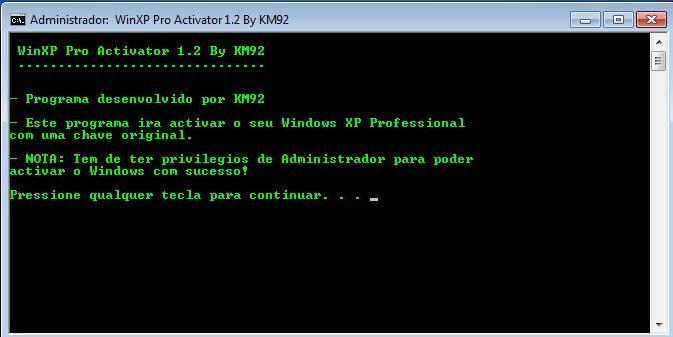ativador windows xp professional sp2 download