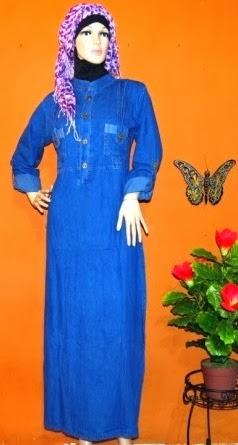 Gamis Jeans Muslimah GJ1046