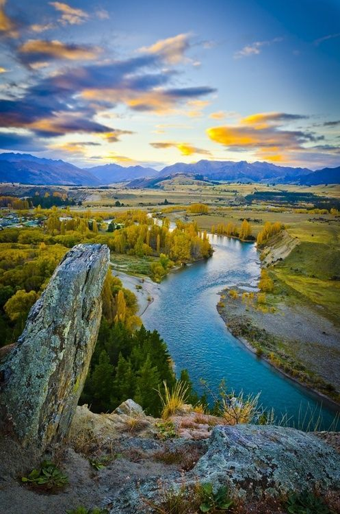 Clutha River,Otaga,New Zealand