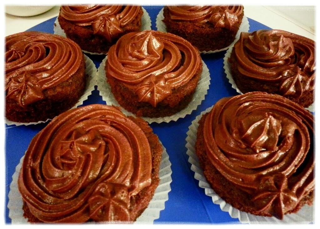 chokladcupcakes recept
