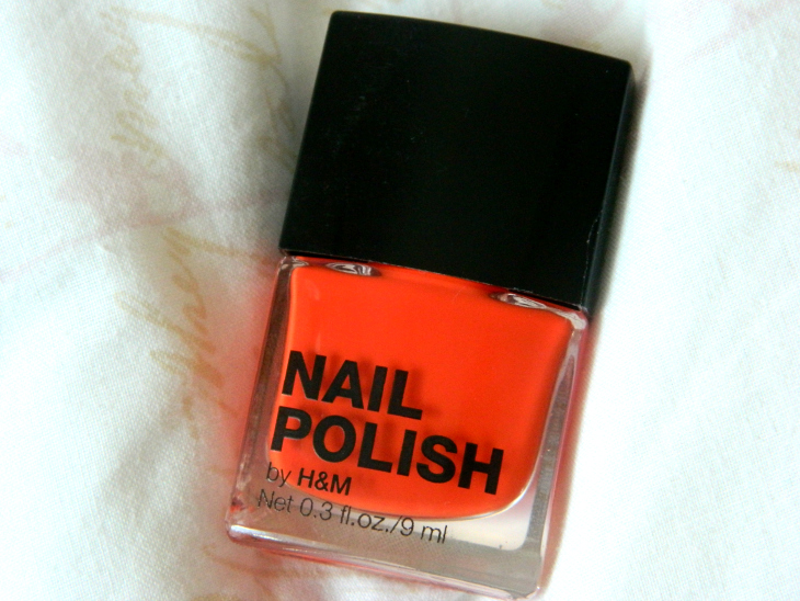 Love From Lisa Nails of the Week Bright Orange