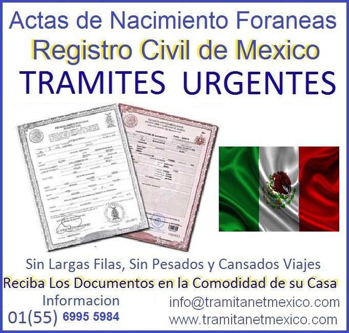 Tus tramites en México: Como solicitar una acta de nacimiento si no ...