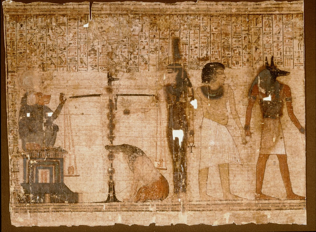Egyptian Book of the Dead painting