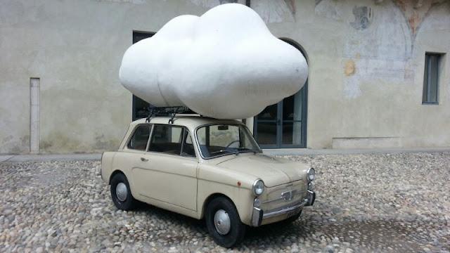 coche nube by m.a.hortigüela