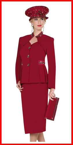 Church Suit Blog | Ladies Church Suits Women: Womens Red Suit, Red