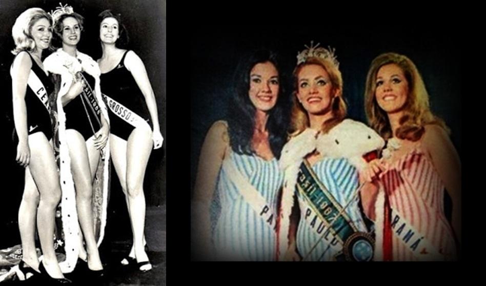 MISSES UNIVERSO BRASIL TOP TRES 1966 E 1967